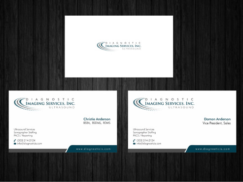 Diagnostic Imaging Services, Inc. Business Cards and Stationery  Draft # 146 by Xpert