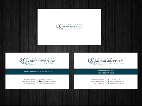 Diagnostic Imaging Services, Inc. Business Cards and Stationery  Draft # 147 by Xpert