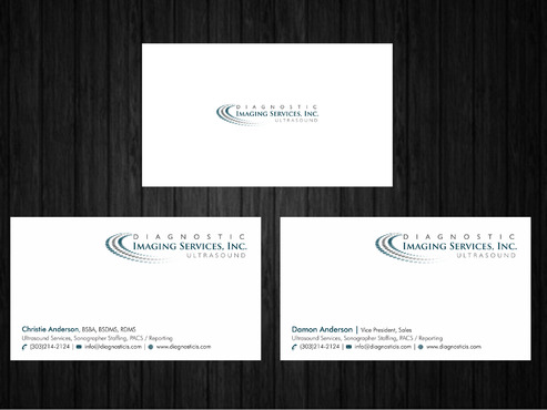 Diagnostic Imaging Services, Inc. Business Cards and Stationery  Draft # 148 by Xpert