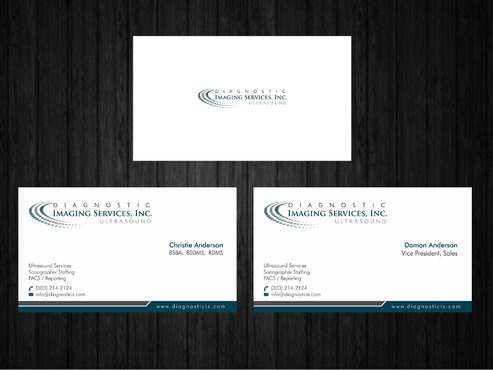 Diagnostic Imaging Services, Inc. Business Cards and Stationery  Draft # 149 by Xpert
