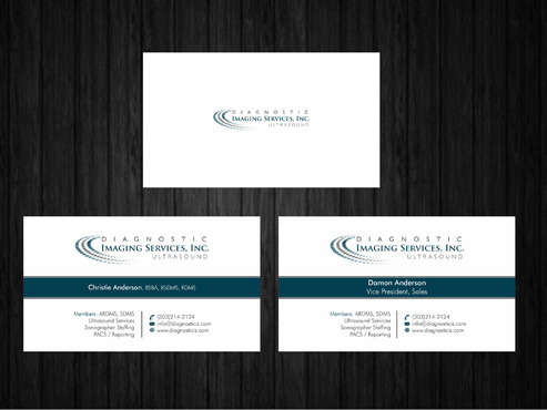 Diagnostic Imaging Services, Inc. Business Cards and Stationery  Draft # 150 by Xpert