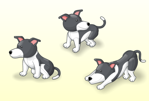 drawing of Italian Greyhound dog in different positions Other  Draft # 20 by Scarl8