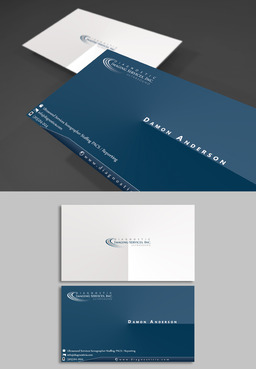 Diagnostic Imaging Services, Inc. Business Cards and Stationery  Draft # 152 by adizzz