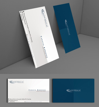 Diagnostic Imaging Services, Inc. Business Cards and Stationery  Draft # 153 by adizzz