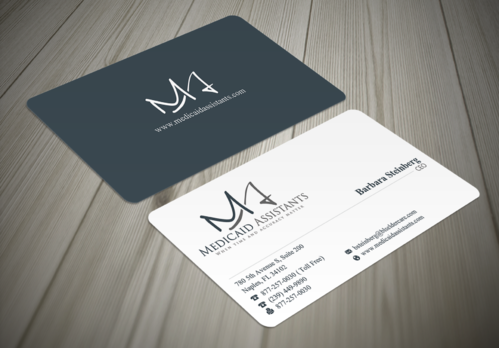 Medicaid Assistants Business Cards and Stationery  Draft # 47 by waterdropdesign