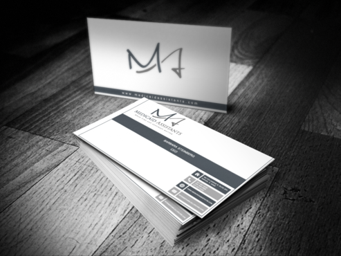 Medicaid Assistants Business Cards and Stationery  Draft # 51 by bulldog