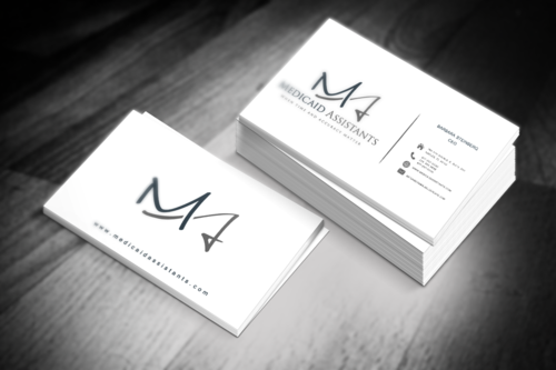Medicaid Assistants Business Cards and Stationery  Draft # 53 by bulldog