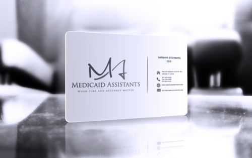 Medicaid Assistants Business Cards and Stationery  Draft # 54 by bulldog
