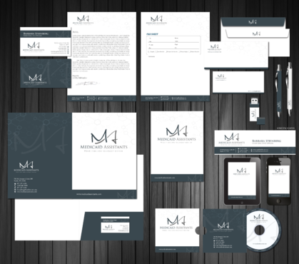 Medicaid Assistants Business Cards and Stationery  Draft # 117 by Achiver