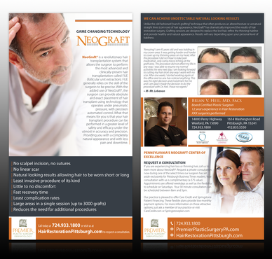 Premier Plastic Surgery & Dermatology Marketing collateral  Draft # 11 by monski