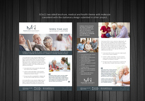Medicaid Assistants Marketing collateral Winning Design by Achiver