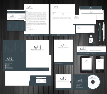 Medicaid Assistants Business Cards and Stationery  Draft # 195 by Achiver