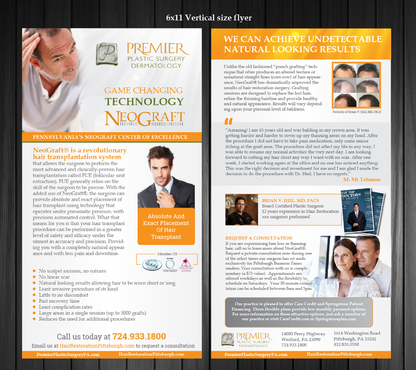 Premier Plastic Surgery & Dermatology Marketing collateral  Draft # 12 by Achiver