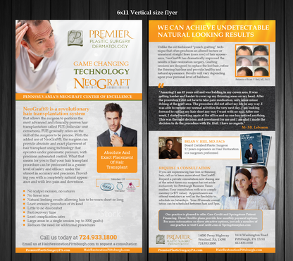 Premier Plastic Surgery & Dermatology Marketing collateral  Draft # 13 by Achiver