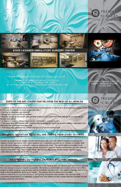 Flyer for Referring Doctors Marketing collateral Winning Design by adizzz