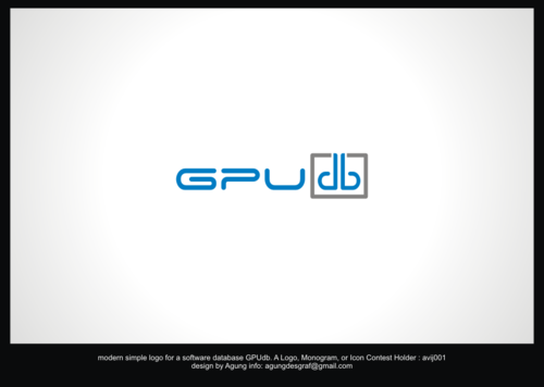 GPUdb  A Logo, Monogram, or Icon  Draft # 215 by agungdesgraf