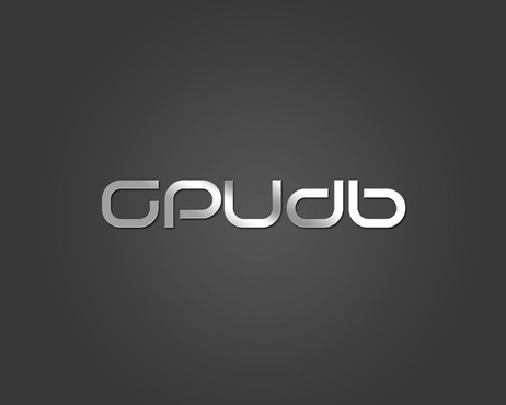 GPUdb  A Logo, Monogram, or Icon  Draft # 632 by Mansanitas