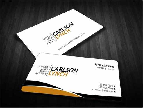 Modern and Professional Business Cards and Stationery  Draft # 187 by Dawson