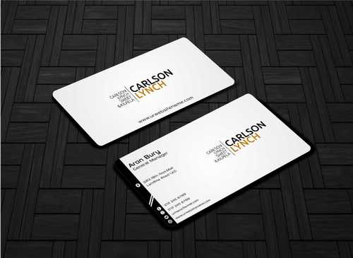 Modern and Professional Business Cards and Stationery  Draft # 190 by Dawson