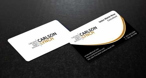 Modern and Professional Business Cards and Stationery  Draft # 195 by Dawson