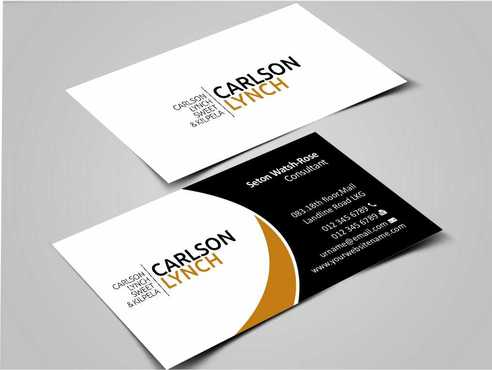 Modern and Professional Business Cards and Stationery  Draft # 199 by Dawson