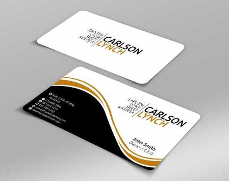 Modern and Professional Business Cards and Stationery  Draft # 202 by Dawson