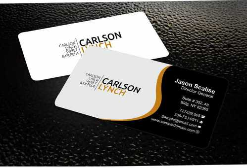 Modern and Professional Business Cards and Stationery  Draft # 204 by Dawson