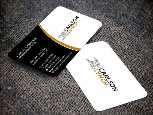 Modern and Professional Business Cards and Stationery  Draft # 206 by Dawson