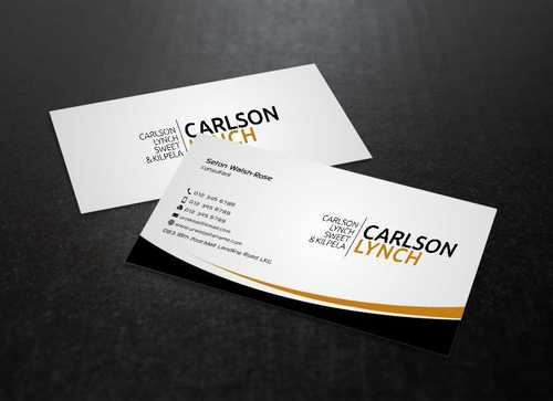 Modern and Professional Business Cards and Stationery  Draft # 209 by Dawson