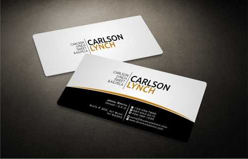 Modern and Professional Business Cards and Stationery  Draft # 210 by Dawson