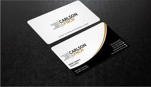 Modern and Professional Business Cards and Stationery  Draft # 211 by Dawson