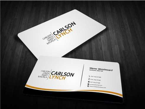 Modern and Professional Business Cards and Stationery  Draft # 216 by Dawson