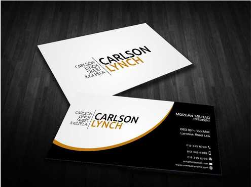 Modern and Professional Business Cards and Stationery  Draft # 217 by Dawson