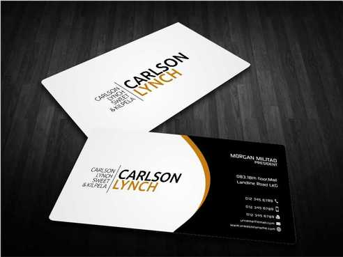 Modern and Professional Business Cards and Stationery  Draft # 218 by Dawson