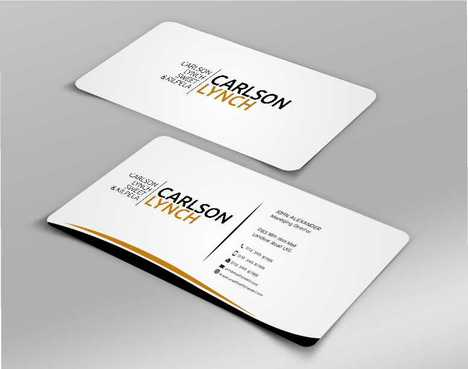 Modern and Professional Business Cards and Stationery  Draft # 224 by Dawson