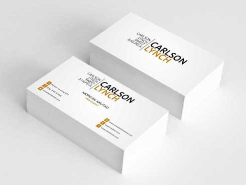 Modern and Professional Business Cards and Stationery  Draft # 225 by Dawson