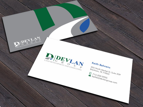 Devlan Group, Land Development and Consulting Business Cards and Stationery  Draft # 1 by Xpert