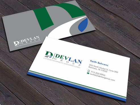 Devlan Group, Land Development and Consulting Business Cards and Stationery  Draft # 2 by Xpert