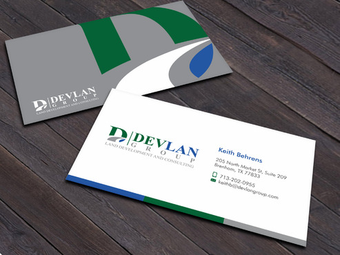 Devlan Group, Land Development and Consulting Business Cards and Stationery  Draft # 3 by Xpert