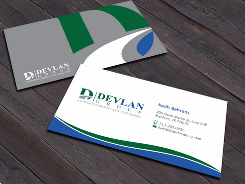 Devlan Group, Land Development and Consulting Business Cards and Stationery  Draft # 4 by Xpert