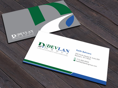 Devlan Group, Land Development and Consulting Business Cards and Stationery  Draft # 5 by Xpert