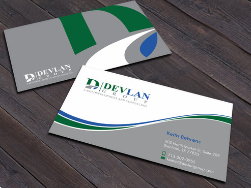 Devlan Group, Land Development and Consulting Business Cards and Stationery  Draft # 6 by Xpert
