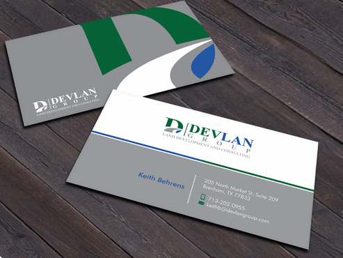 Devlan Group, Land Development and Consulting Business Cards and Stationery  Draft # 7 by Xpert