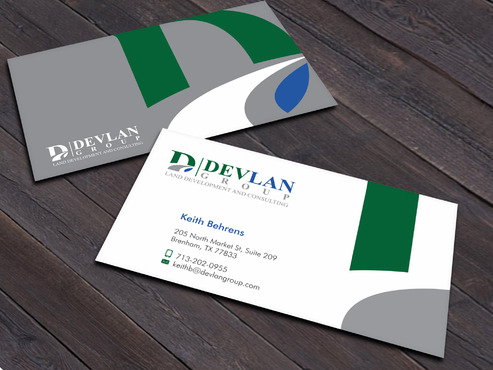 Devlan Group, Land Development and Consulting Business Cards and Stationery  Draft # 8 by Xpert