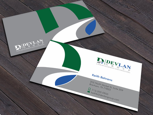 Devlan Group, Land Development and Consulting Business Cards and Stationery  Draft # 9 by Xpert