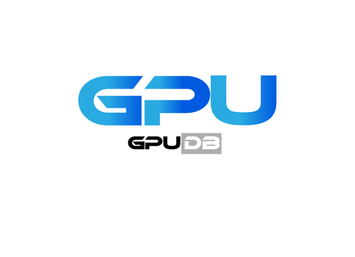 GPUdb  A Logo, Monogram, or Icon  Draft # 822 by gulahmeed
