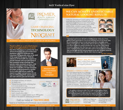 Premier Plastic Surgery & Dermatology Marketing collateral  Draft # 15 by Achiver