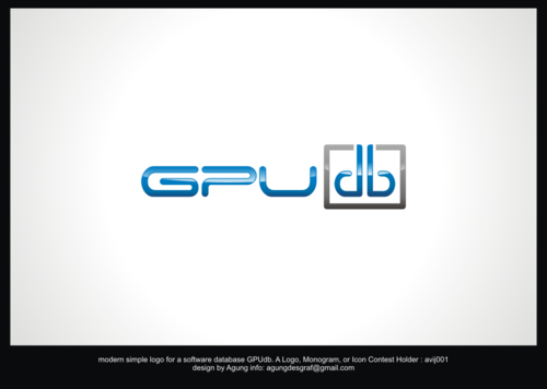 GPUdb  A Logo, Monogram, or Icon  Draft # 931 by agungdesgraf