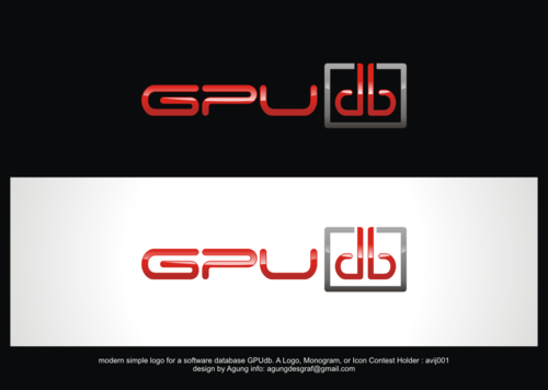 GPUdb  A Logo, Monogram, or Icon  Draft # 954 by agungdesgraf