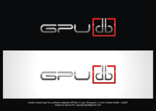 GPUdb  A Logo, Monogram, or Icon  Draft # 956 by agungdesgraf
